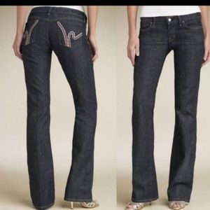 Citizens of Humanity low waist bootcut stretch